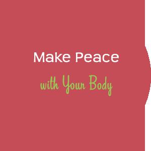 make peace