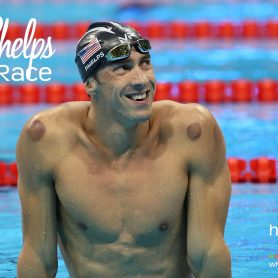How She Really Does It with Koren Motekaitis   Michael Phelps - After the Race