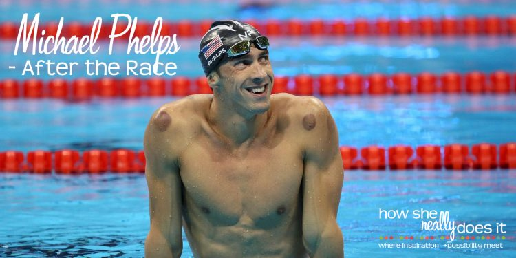 How She Really Does It with Koren Motekaitis | Michael Phelps - After the Race