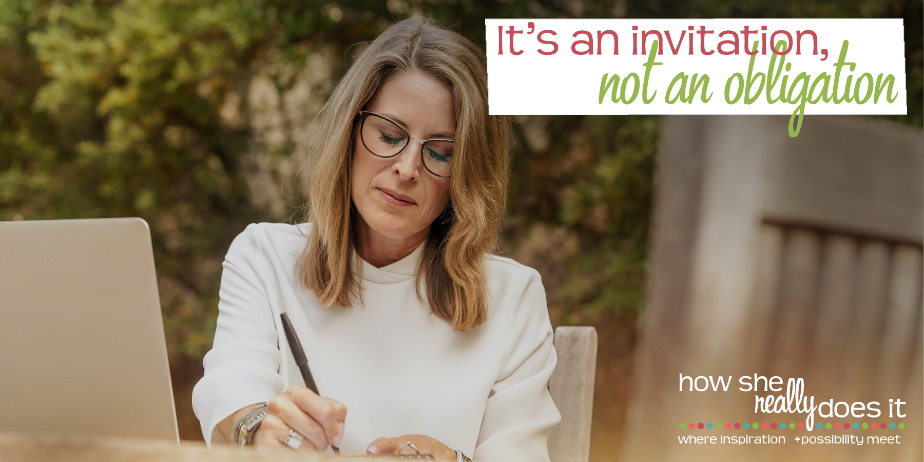 How She Really Does It with Koren Motekaitis | It's an invitation, not an obligation